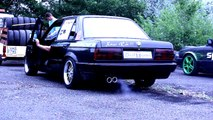 BMW E30 Doing Donuts