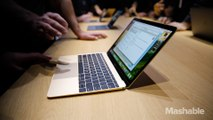 The New Macbook hands-on   Mashable