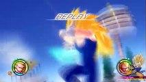 SSj3 Goku vs SSj3 Vegeta Raging Blast 2