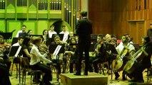 W.A.Mozart-Simfonia nr.26, în Do M, Linz, p. a IV-a- dirijor Răzvan Apetrei(Anul IV)