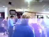 HILLARY CLINTON SUPPORTER LOSES IT! ATTACKS BARACK OBAMA !!!