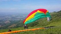 Dat and Hieu. Flying with News Sky Paragliding. Paragliding Vietnam, Dù lượn Việt Nam