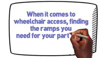 Need a Wheelchair Ramp or Lift for Your Home? Wheelchair Ramp Rentals!