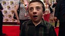 Atticus Shaffer Frankenweenie Interview - Comic Con 2012!