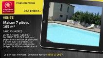A vendre - maison - CAHORS (46000) - 7 pièces - 165m²