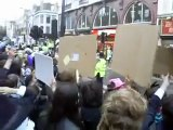 April 12th London Scientology Protest - Rickroll