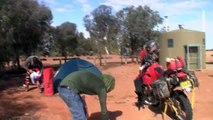 Adventurers deal with Australian outback flies