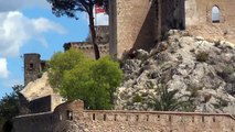 Cool Xativa Castle Spain