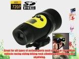 AT18A High Definition Waterproof Actioncam HD 720P Sport Helmet Action Video Camera DVR AVI