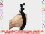 Veho VCC-A023-PSM MUVI HD Action Camera Palm Strap Mount for snowboarding skydiving surfing