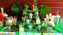 Dinosaur Cupcakes! Make Stegosaurus Cup Cakes - A Cupcake Addiction How To Tutorial