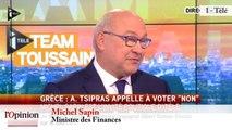 """TextO' : Grèce - François Bayrou : """"Je suis extrêmement interrogatif sur l'absence du président de la République"""""""