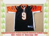 Cincinnati Bengals Premier Sewn NFL American Football Jersey Shirt - Palmer #9 - Mens Large