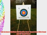 ASD Archery 60x60cm Self Healing Foam Target Boss With Stand and 10 Target Faces