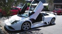 Lamborghini Murcielago LP640 Start Up and Accelerate