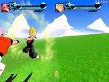 ZEQ2 gameplay Super vegetto vs Super buu