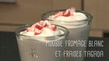 Recette pour enfants de mousse fromage blanc et fraises tagada - Gourmand