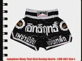 Lumpinee Muay Thai Kick Boxing Shorts : LUM-002 Size L