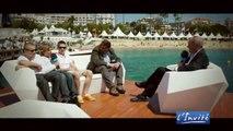 Bouli LANNERS présente les Géants au festival de Cannes