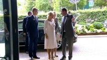 The Duchess of Cornwall arrives at Wimbledon