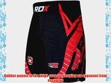Authentic RDX Shorts UFC MMA Grappling Short Kick Boxing Mens Muay Thai Pants Gym Wear RB