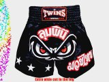 TBS-02 Twins Special Nofear Muay Thai Shorts (Size L) K1 Thai boxing MMA K-1 Kick Boxing Boxing