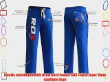 Authentic RDX BOXE Fleece Pants Trousers UFC MMA Gym Bottoms Jogging Joggers Shorts Men Blue