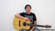 LECCION 10 - INICIACION GUITARRA ACÚSTICA - CURSO COMO TOCAR GUITARRA COMO PONER CEJILLA