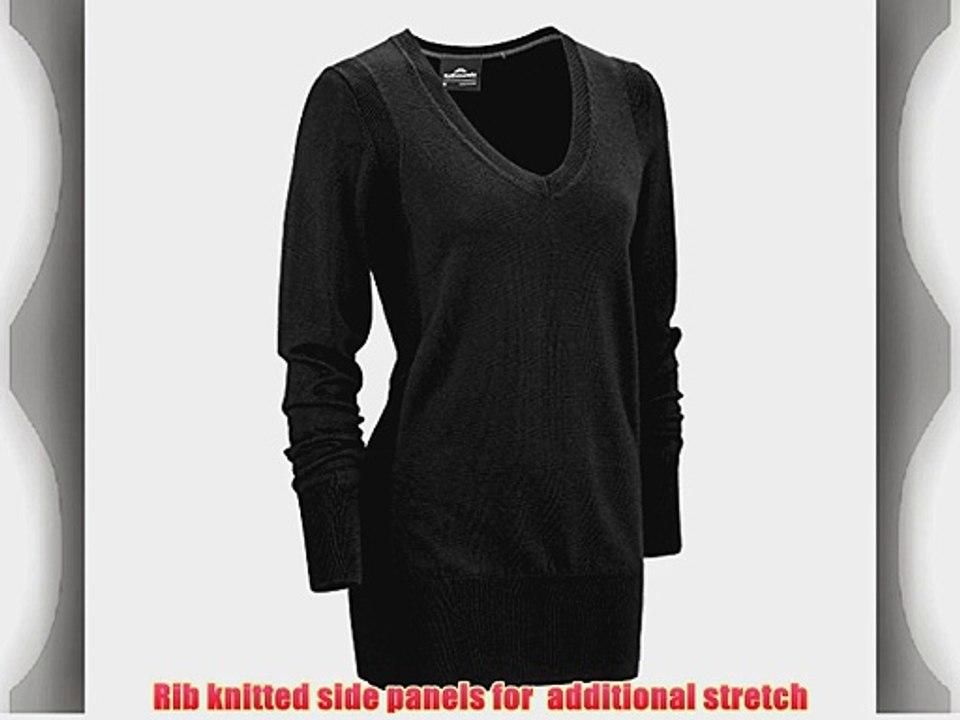 Ashworth Mens V-Neck Merino Long Sleeve Sweater
