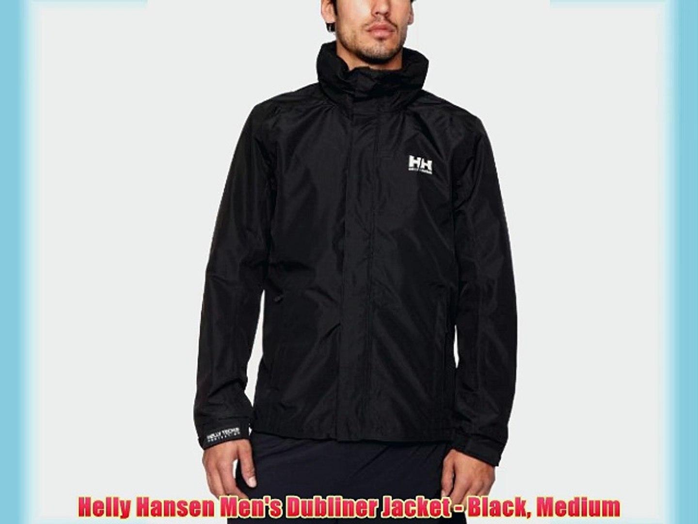 4e8411a04 Helly Hansen Men's Dubliner Jacket - Black Medium