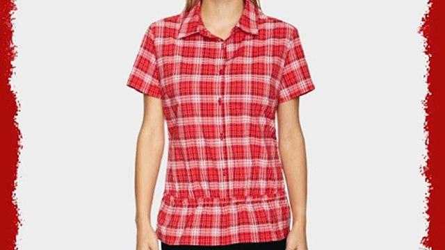 Salomon Valveni Shirt Women's - Rubis-X/Light Rubis Red/White Large