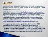 Galileo Software, Galileo GDS, GDS system, Galileo Reservation System, Galileo CRS System