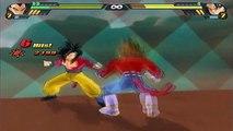 DragonBall Z Budokai Tenkaichi 3 | SSJ4 Goku Vs SSJ4 Vegeta [EPIC BATTLE]