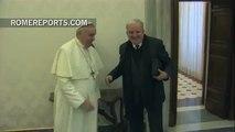 El Papa se reúne con Kiko Argüello, iniciador del Camino Neocatecumenal
