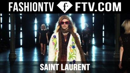 Saint Laurent Spring/Summer 2016 Show | Paris Men's Fashion Week | FashionTV
