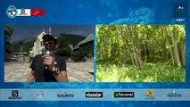 80K- Plateau 2 - Tête de course au Tour - Chamonix Marathon du Mont-Blanc 2015