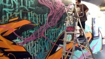 Visite Gare du Nord - Exposition Quai36 Street Art