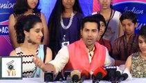 Hilarious Vraun Dhavan Praises All Kids Of Indian Idol  @ Indian Idol Juniar Show