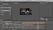 Linear Wipe Transition Tutorial (Adobe After Effect) - video