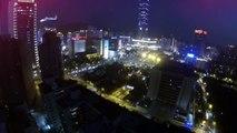 "Dji Phantom ""看見台灣""  空拍台北101夜晚 Taipei 101 night view nightshot vision Gopro Hero 3 black edition"
