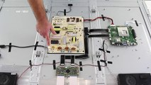 LCD TV Repair Tutorial - T-Con Board Common Symptoms