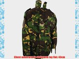 Boys 5-6 Padded Soldier Army Jacket Woodland Camouflage