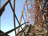 Psyclone Roller Coaster POV Six Flags Magic Mountain Closed in 2006