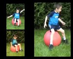 EXERCICE AVEC SWISS BALL CORE TRAINING AND CORE STABILITY