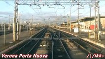 Linea Verona - Brennero 1° Tratto Verona Porta Nuova - Verona Parona (dalla cabina)
