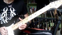 Angie guitar cover (improvisation solo) - The Rolling Stones (HD)