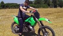 02/07/2015 angelo sorbo in lezione di motocross kawasaki kx 125 2003 parte 1