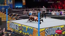WWE 2K15 SIGNATURES  FINISHERS W Tired animations  Charged Finishers PS4  XBOX ONE