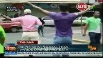 Huelga en Colón, Panamá contra brutal represión policial