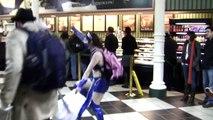 15: Mortal Kombat/Street Fighter Flash Mob (New York)